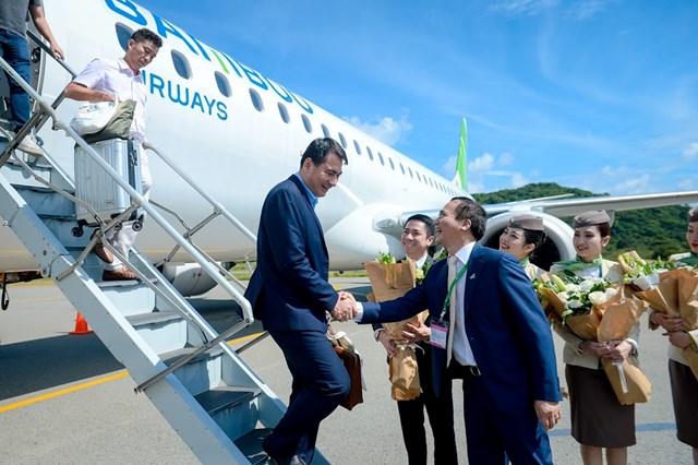 Bamboo Airways chính thức khai trương 3 đường bay thẳng đến Côn Đảo