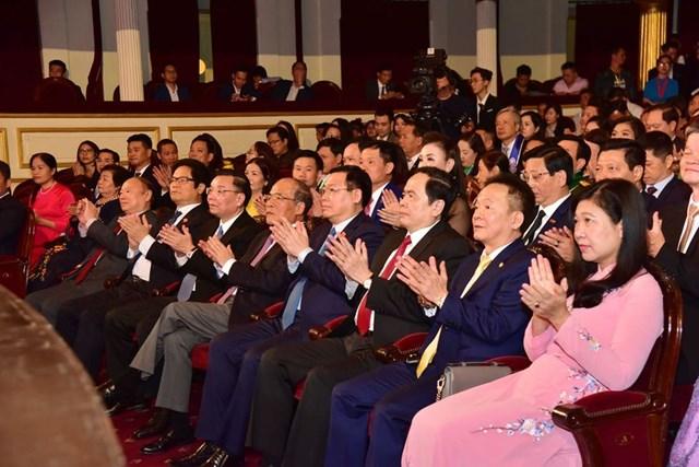 Các đại biểu dự Lễ tôn vinh. Ảnh: Quang Vinh.