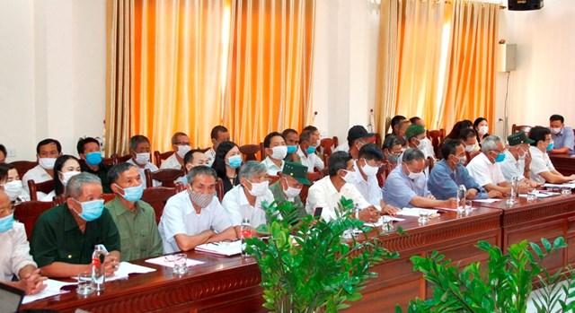 Các đại biểu là những người uy tín trong đồng bào dân tộc thiểu số tham dự đợt tập huấn do Ủy ban Trung ương MTTQ Việt Nam tổ chức.