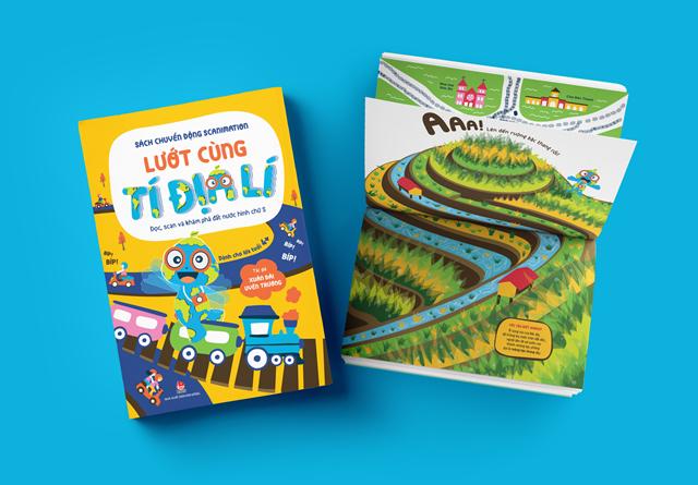 Tìm hiểu các thắng cảnh nổi tiếng Việt Nam qua cuốn sách tương tác do 2 tác giả người Việt thực hiện.