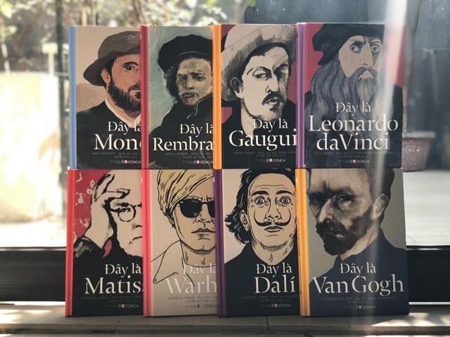 Bộ sách 8 cuốn giới thiệu 8 danh họa hàng đầu thế giới vừa được dịch và xuất bản ở Việt Nam.