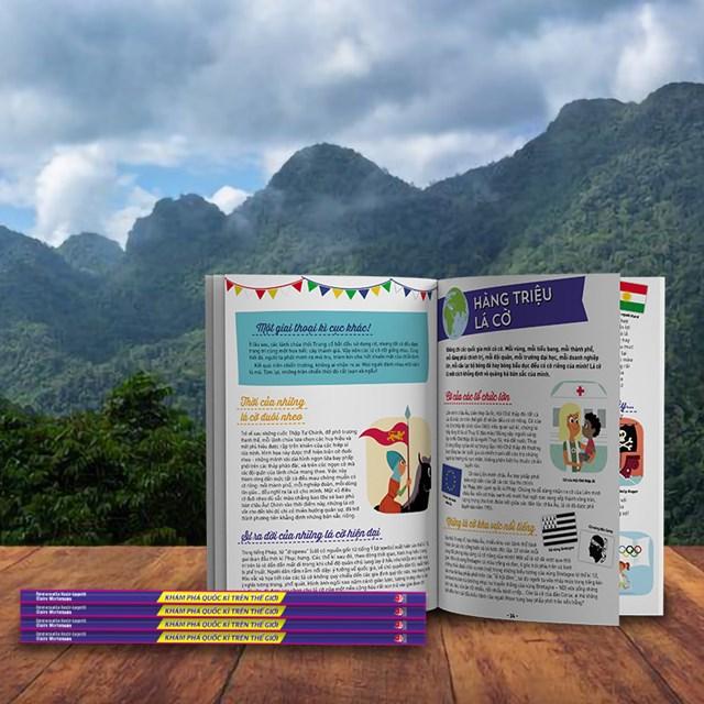 Sách được in màugiúp bạn đọc nhận thức nhiều câu chuyện văn hóa đặc sắc khác.