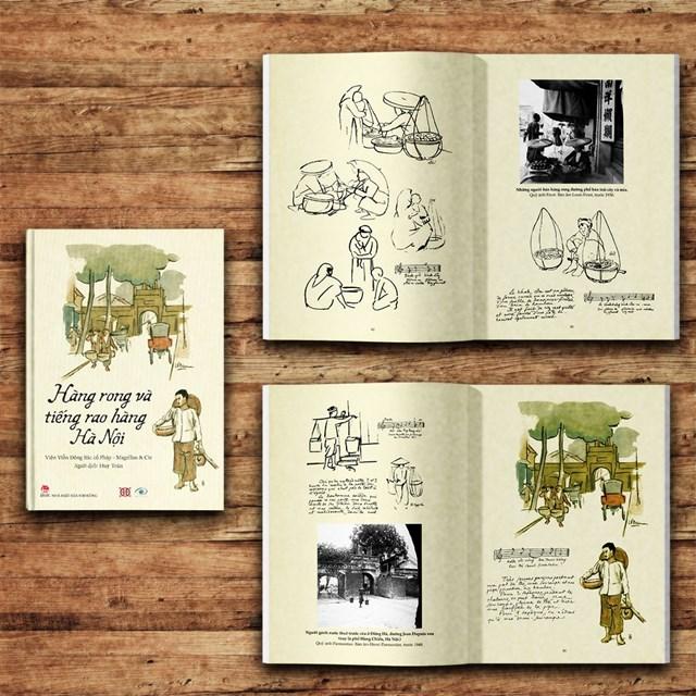 Những gánh hàng rong, những tiếng rao ê a đầy nhịp điệu trong ngõ nhỏ trong cuốn sách sẽ đánh thức ký ức của nhiều người.