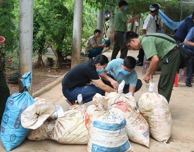 Triệt phá chuyên án vận chuyển, tàng trữ 454 kg thuốc nổ.