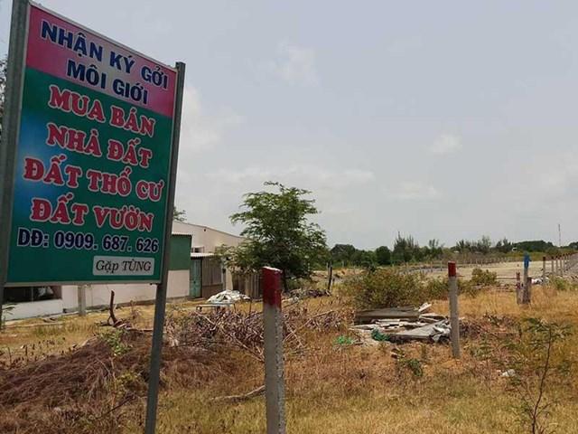 Các môi giới nhà đất tại Cần Giờ (TP HCM) khẳng định, chỉ trong vòng 1 năm giá trị lô đất sẽ tăng gấp đôi.