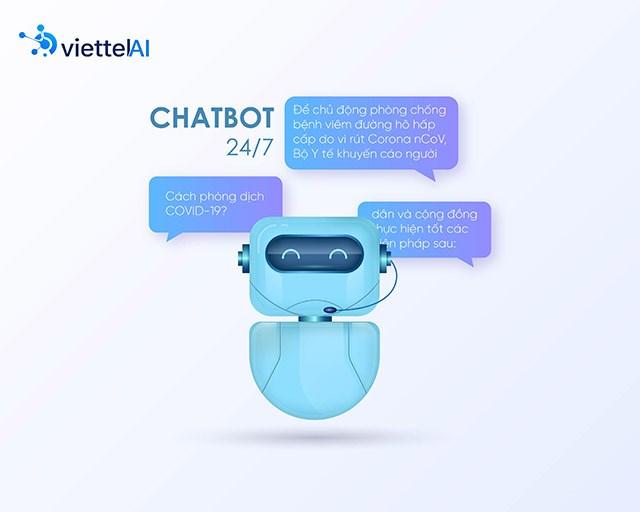 Chatbot của Viettel hoạt động vô cùng hiệu quả trong giai đoạn 6 tháng đầu năm