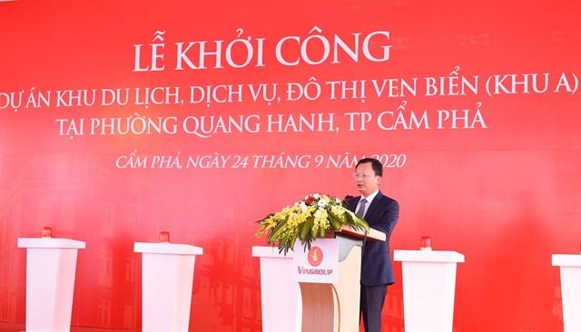 Vingroup khởi công Khu du lịch, dịch vụ, đô thị ven biển Quang Hanh - Ảnh 2