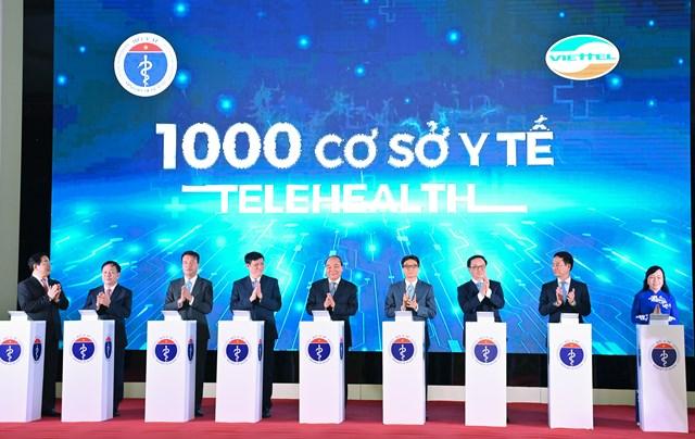 Sự kiện khai trương1.000 điểm Telehealth.