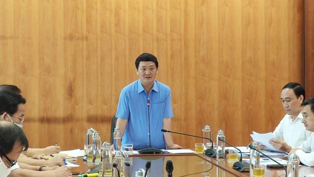 Phó Chủ tịch - Tổng Thư ký UBTƯ MTTQ Việt Nam Hầu A Lềnh phát biểu chỉ đạo Hội nghị.