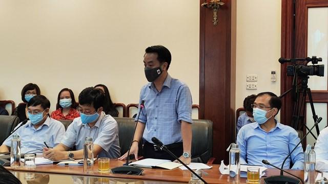 Các đại biểu thảo luận, đóng góp ý kiến tại Hội nghị.