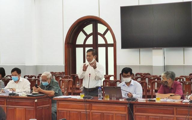 Các đại biểu đóng góp ý kiến tại Hội nghị.