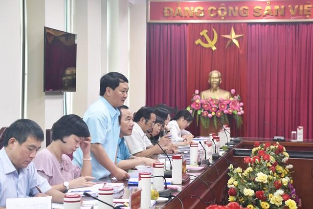 Đoàn công tác làm việc tại Trung ương Hội Nông dân Việt Nam.
