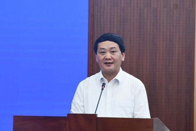 Phó Chủ tịch – Tổng Thư ký Hầu A Lềnh phát biểu chỉ đạo tại Hội nghị.