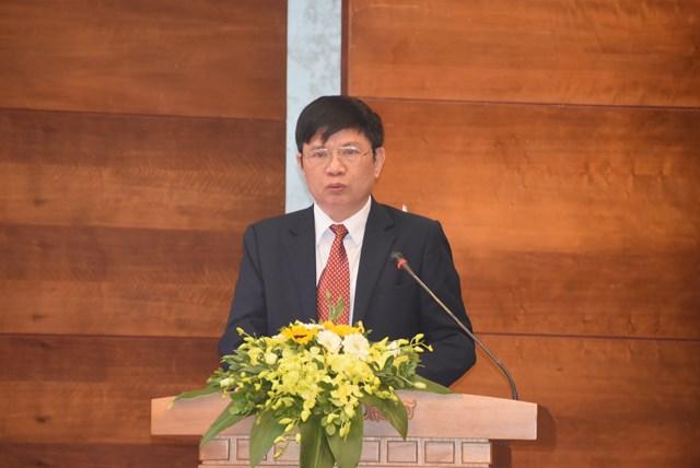 Ông Tạ Văn Sỹ phát biểu tại buổi lễ.