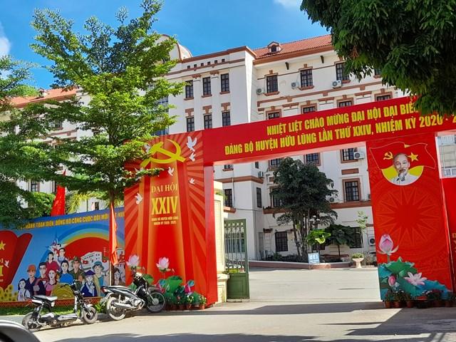 Trụ sở UBND huyện Hữu Lũng