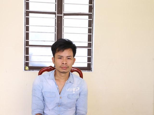 Đối tượng Thái Ngọc Hoàng tại CQĐT.
