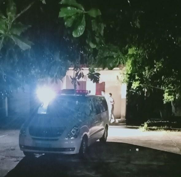 Nạn nhân được đưa về nhà xác Bệnh viện đa khoa Hà Tĩnh chờ người nhà đến nhận.