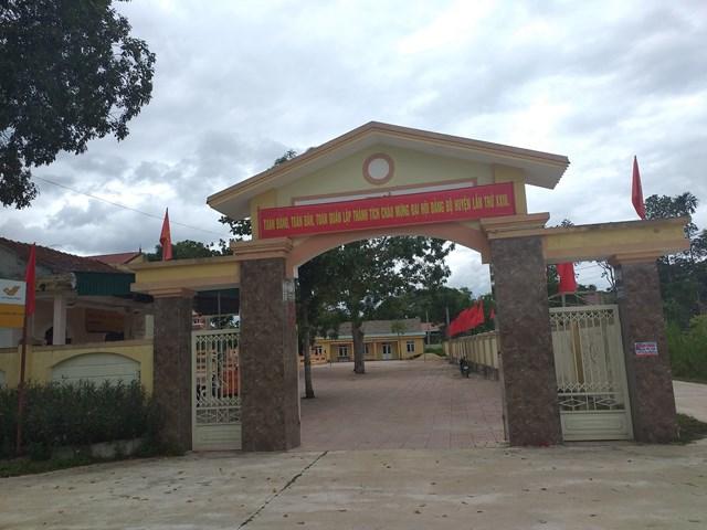 Chủ tịch UBND xã Sơn Ninh ra quyết định xử phạt 2 triệu đồng đối với chị Võ Thị Minh H..