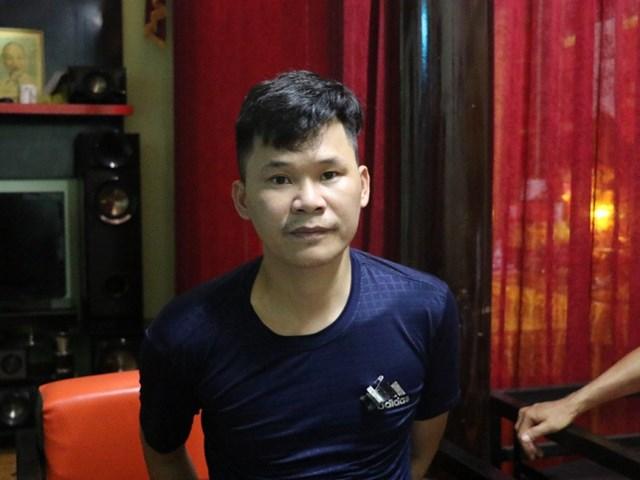 Đối tượng Phạm Xuân Trà hay còn gọi là Tài Khoan. Ảnh: Sỹ Quý - Hà Linh.