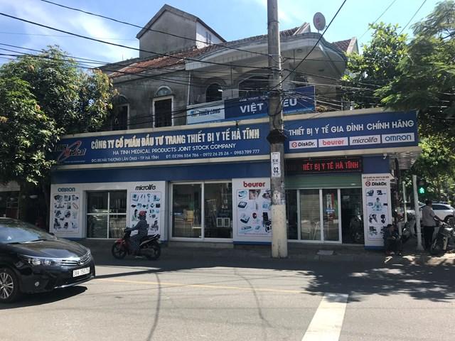 Công ty CP đầu tư TTBYT Hà Tĩnh.
