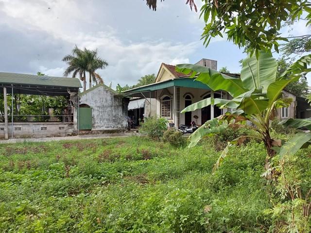 Ngôi nhà nơi xảy ra vụ án mạng nghiêm trọng.
