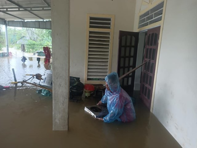 Hơn 26.000 hộ dân bị ngập lụt.