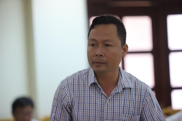 Ông Nguyễn Văn Sáu, Phó Chủ tịch UBND huyện Thạch Hà.