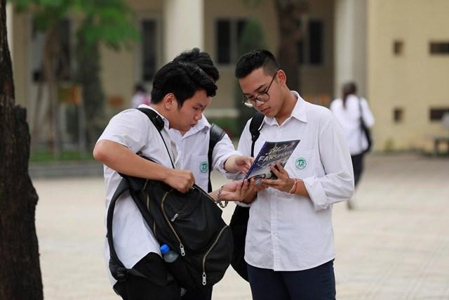 Thí sinh cần lưu ý trong quá trình đăng ký xét tuyển để tránh trượt oan. Ảnh: Phạm Quang Vinh.