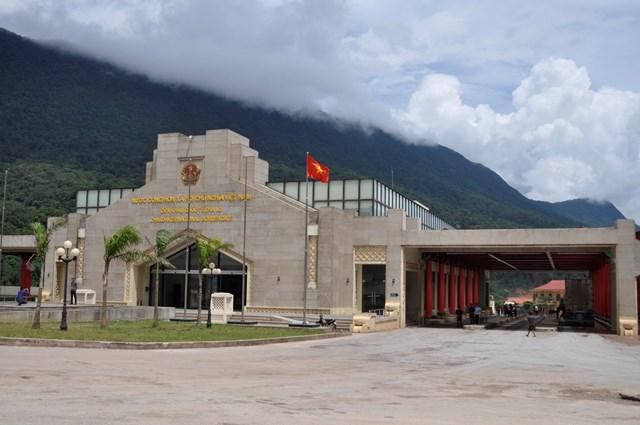 Đồn Biên phòng CKQT Cha Lo nơi bà Hai nhập cảnh trái phép để trốn cách ly dịch Covid-19.