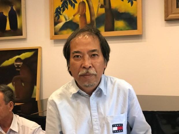 Nhà văn Nguyễn Quang Thiều.