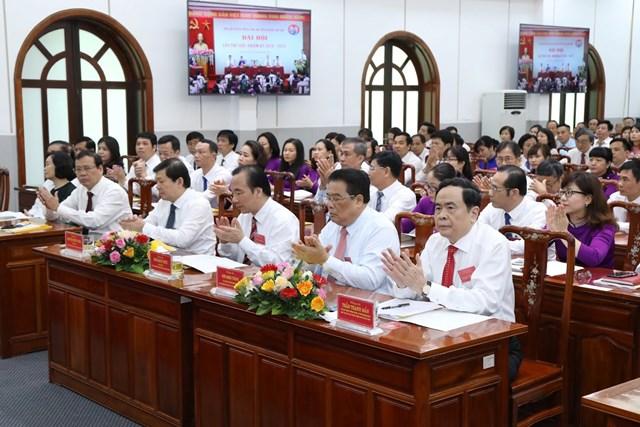 Các đại biểu tham dự Đại hội. Ảnh: Quang Vinh.