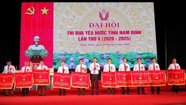 Tại đại hội, nhiều tập thể, cá nhân của tỉnh Nam Định được đón nhận những phần thưởng cao quý.