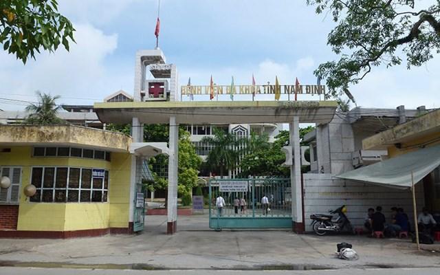 BV Đa khoa tỉnh Nam Định hiện nằm trong nội thành TP Nam Định