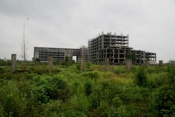Công trình BV ở Nam Định bỏ hoang đã 13 năm.