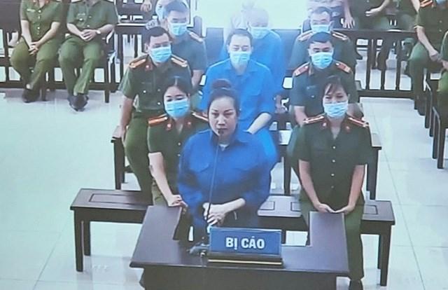 Nguyễn Thị Dương, vợ Đường Nhuệ tại tòa