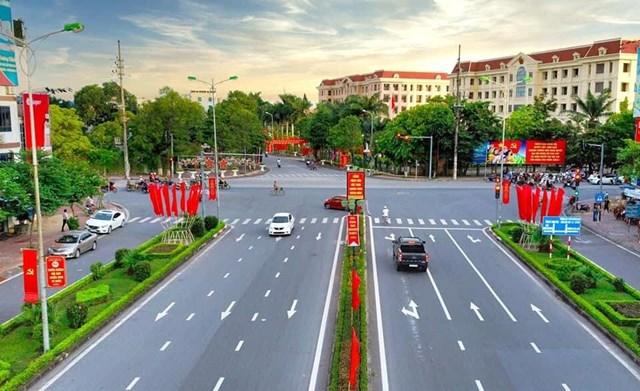 Đường Võ Nguyên Giáp-TP Nam Định.