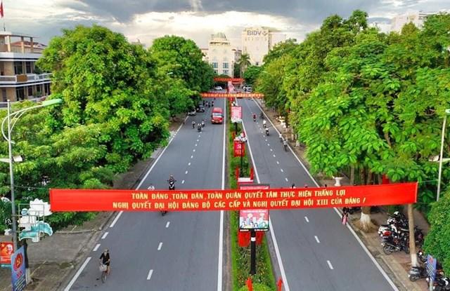 Đường phố Nguyễn Du-TP Nam Định.