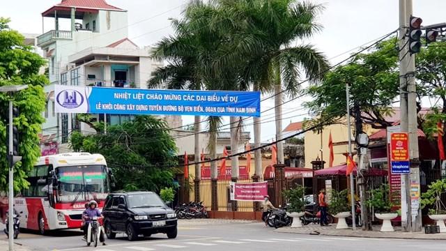 Thị trấn Ngô Đồng-Trung tâm huyện ven biển Giao Thủy.