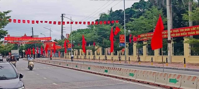 Thị trấn Nam Giang-Trung tâm huyện Nam Trực.