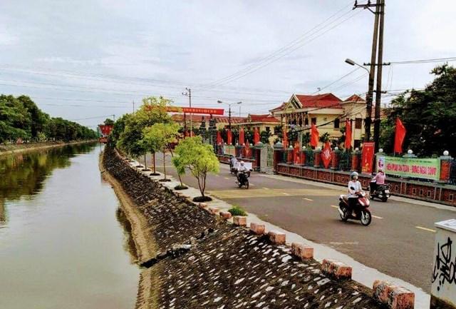 Nông thôn mới Nam Định .