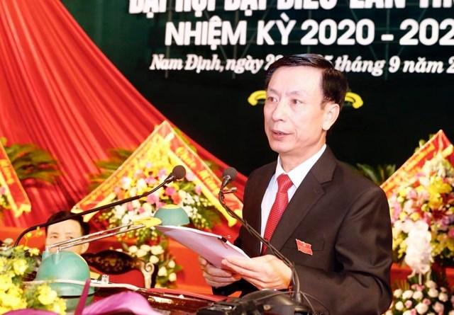 Ông Phạm Đình Nghị, Phó Bí thư Tỉnh ủy, Chủ tịch UBND tỉnh được tái cử Phó Bí thư Tỉnh ủy khóa 20.