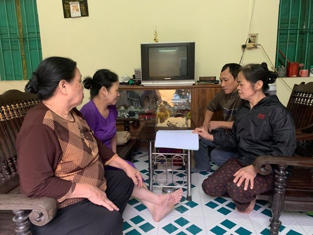 Người dân có nhà ở bị ảnh hưởng đang lo lắng,bất an nhưng vẫn phải chờ đợi được đền bù.