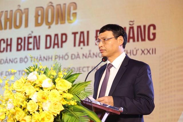 Ông Hồ Kỳ Minh, Phó Chủ tịch UBND TP Đà Nẵng phát biểu tại sự kiện.