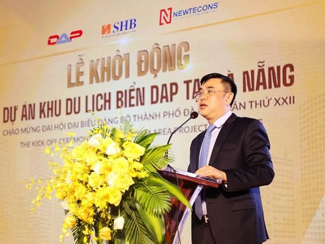 Ông Nguyễn Văn Lê, Tổng Giám đốc Ngân hàng SHB cam kết SHB sẽ hỗ trợ tối đa để dự án được triển khai và hoàn thành đúng tiến độ.
