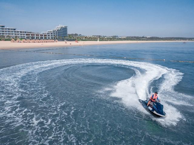 Đua mô tô nước jetski: trải nghiệm bộ môn thể theo đỉnh cao trên biển