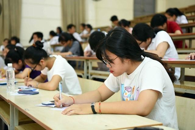 Thí sinh tham gia kỳ thi tốt nghiệp THPT 2020