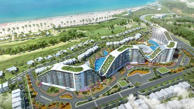 Khách sạn The Coastal Hill được xem là một biểu tượng mới của Quy Nhơn (Phối cảnh 3D)