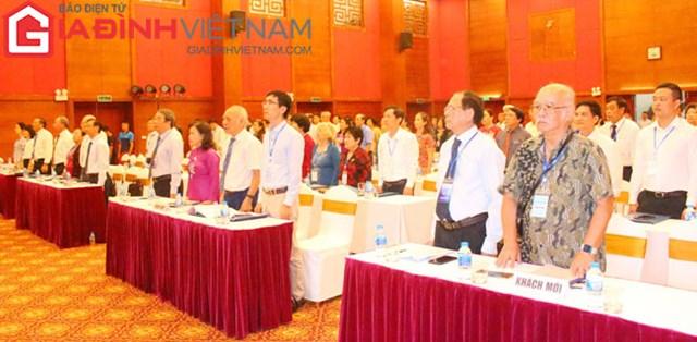 Các đại biểu tham dự Đại hội Đại biểu toàn quốc Hội Kế hoạch hóa gia đình Việt Nam nhiệm kỳ VI (2020 - 2025).
