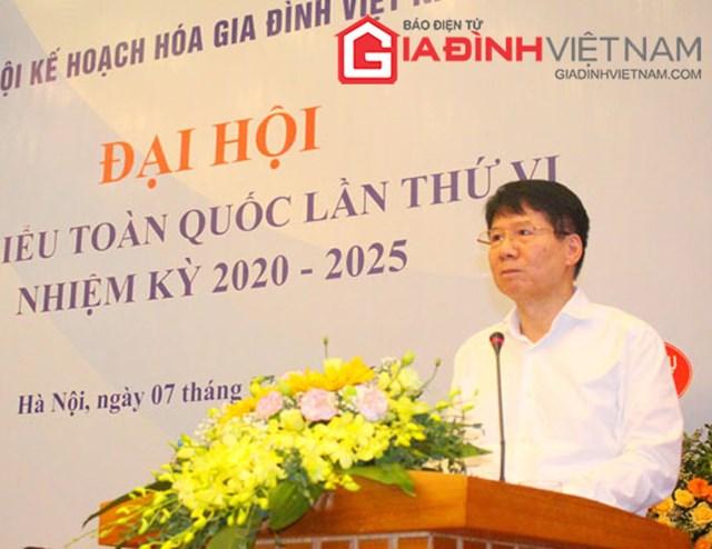 TS. Trương Quốc Cường - Thứ trưởng Bộ Y tế phát biểu tại Đại hội