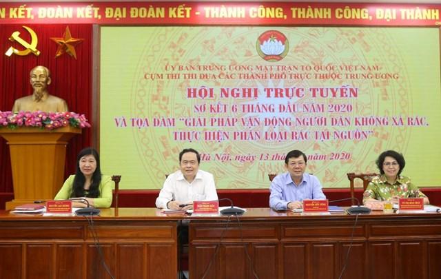 ông Trần Thanh Mẫn, Bí thư Trung ương Đảng, Chủ tịch UBTƯ MTTQ Việt Nam
